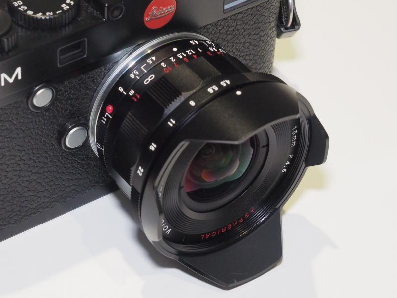 SUPER WIDE-HELIAR 15mm F4.5 Aspherical VM(TypeIII)