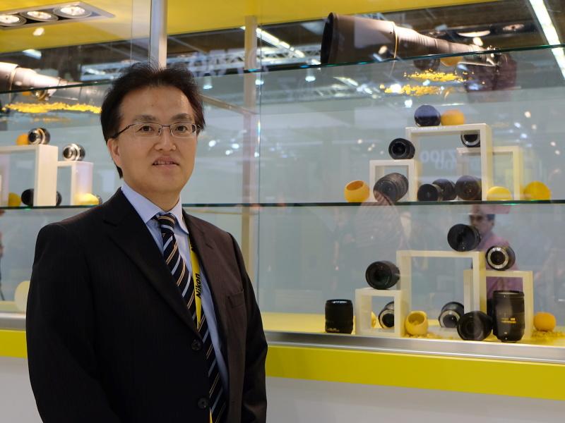 ニコン 映像事業部 マーケティング統括部第一マーケティング部長の楠本滋氏