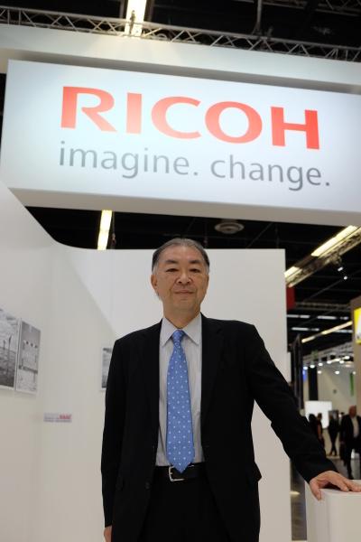 リコーイメージング株式会社 代表取締役社長 赤羽昇氏