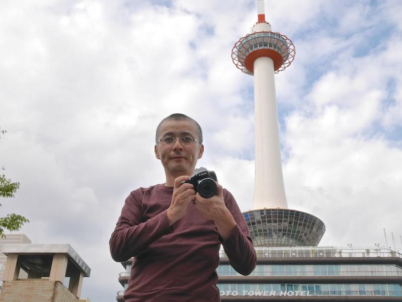たまたま京都に帰省中だった川北茂樹さん