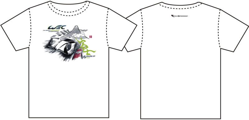 WEC富士オリジナルTシャツ(Mサイズ)