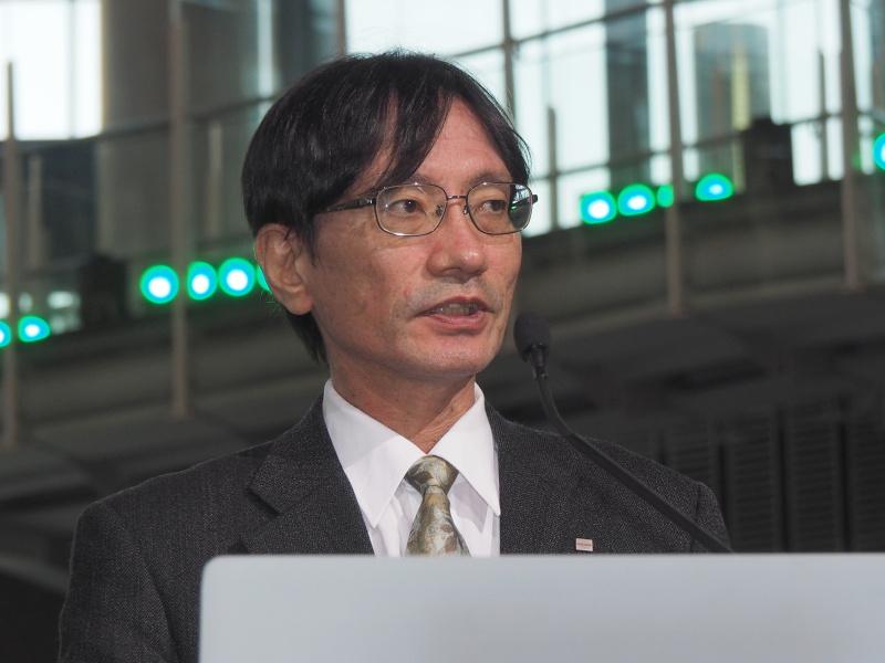 リコー技術研究所 フォトニクス研究センター 寺尾典之氏