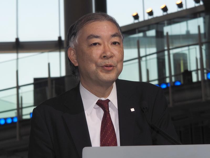 リコーイメージング代表取締役社長 赤羽昇氏