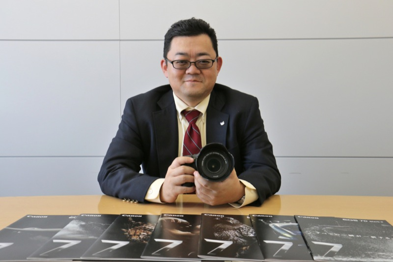 キヤノンマーケティングジャパン株式会社イメージコミュニケーション企画本部カメラ商品企画第一部 小林元課長