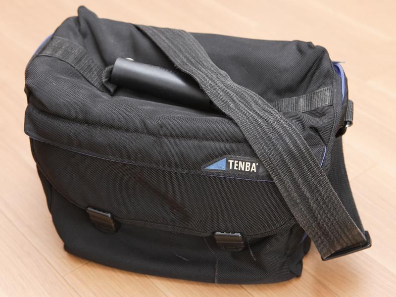 現在サブとして使っているテンバ製のバッグ