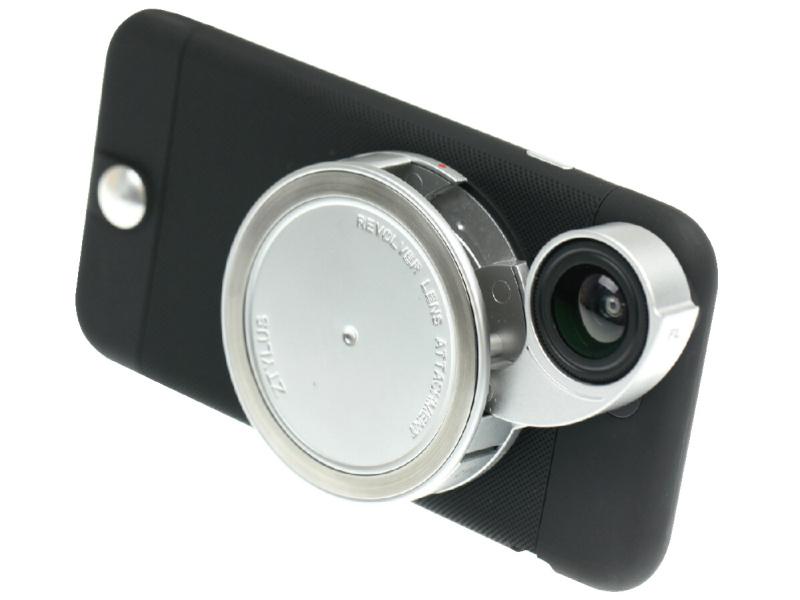 ズタイラスiPhone 6ケースZIP-6LBを介してiPhone 6に装着したところ