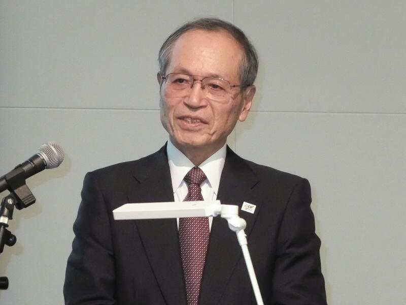 CIPA代表理事会長の内田恒二氏