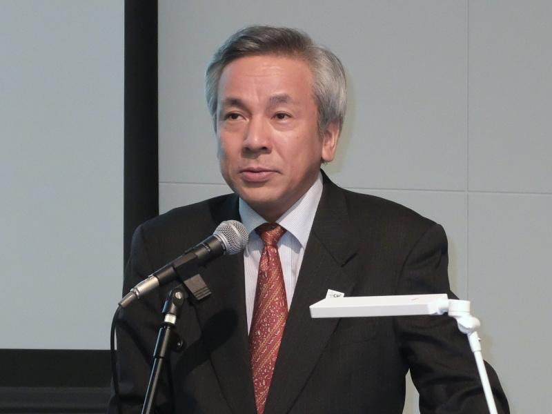 一般社団法人 カメラ映像機器工業会(CIPA)CP+実行委員会 委員長 江田尚之氏