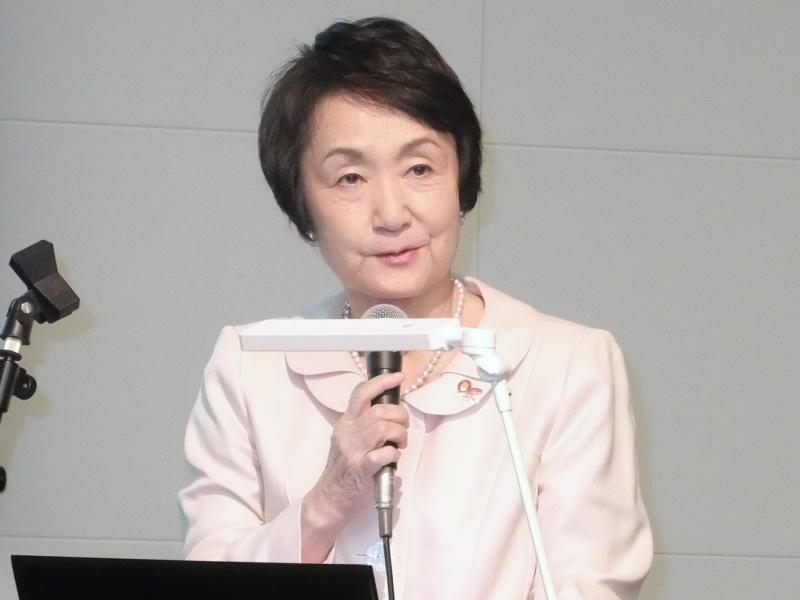 横浜市長の林文子氏