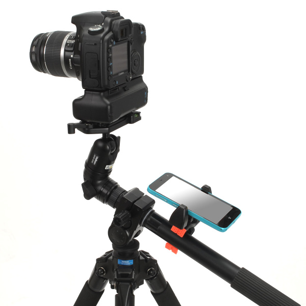 ビデオ雲台との組み合わせ例