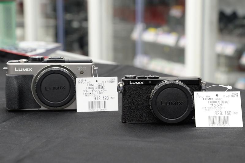 ミラーレスカメラにはお買い得品が多い。例えばカメラ女子の最初の1台などにもおすすめ。