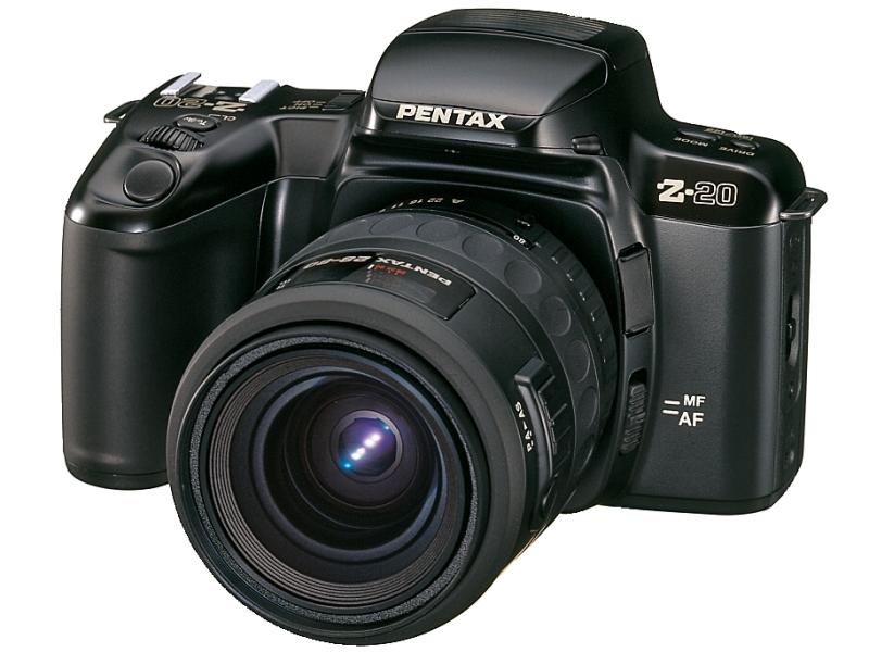 かつての銀塩カメラPENTAX Z-20は学習機能を備え、使用者のクセ、プログラムシフトラインを覚えてくれる