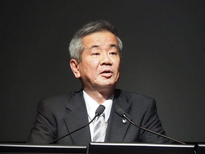 キヤノン株式会社専務取締役イメージコミュニケーション事業本部長 真栄田雅也氏