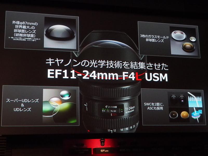 EF11-24mm F4L USMを発表
