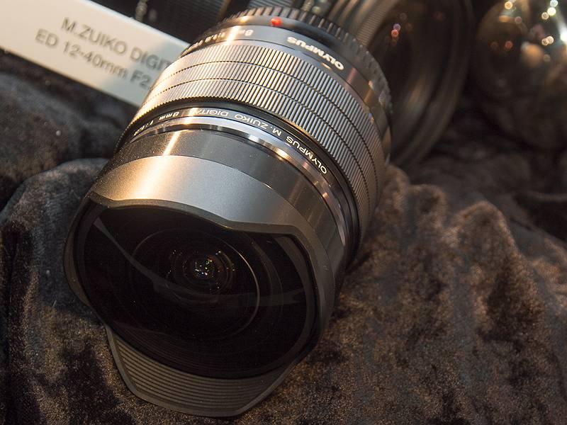 M.ZUIKO DIGITAL ED 8mm F1.8 Fisheye PRO