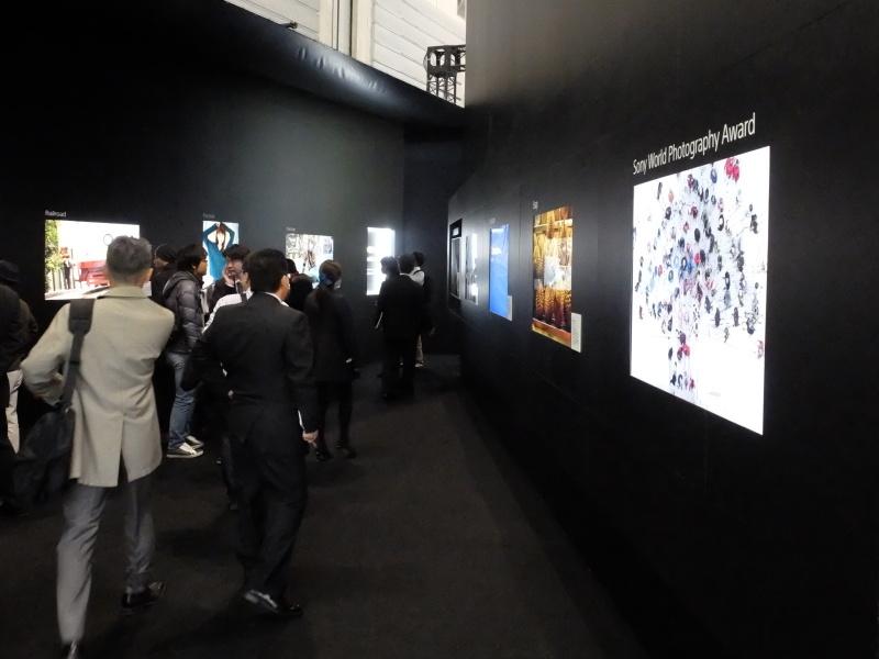 「4K Photo Museum」では、αシリーズで写真家が撮影した作品を4Kテレビを使って展示していた