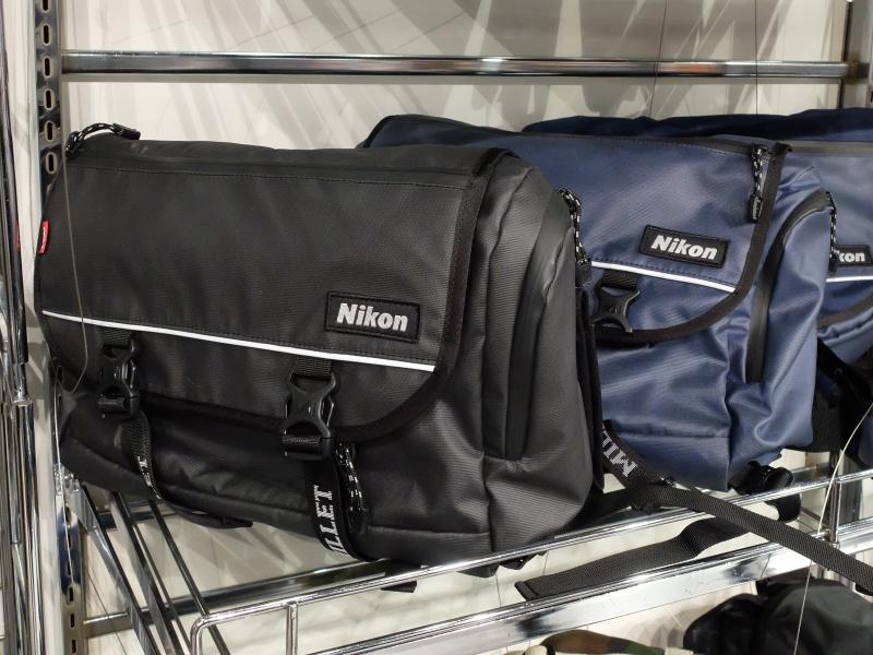 Nikon×MILLETアクティブメッセンジャーII。素材違いの従来モデルがあった