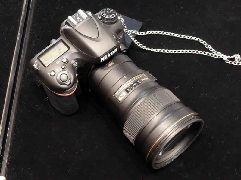 AF-S NIKKOR 300mm f/4E PF ED VR。D610に装着