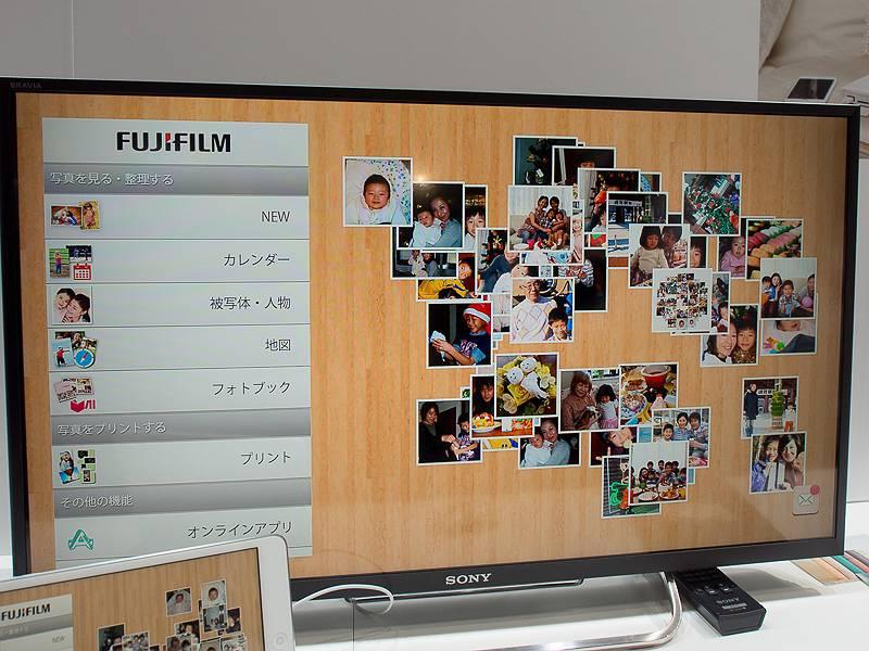 テレビやスマートフォン、タブレットに接続して中身を確認できる