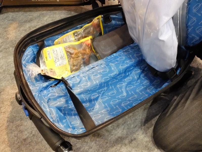荷物を収納する部分