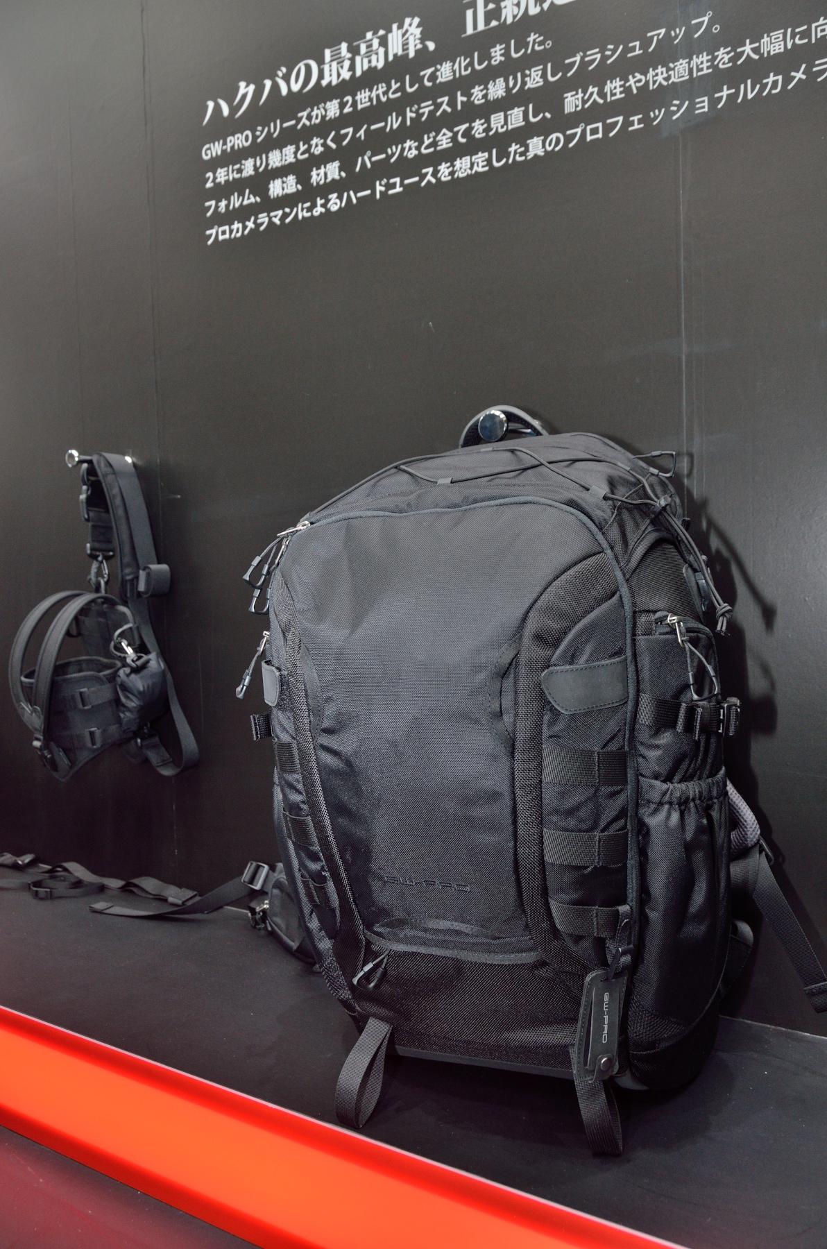 GW-PROバックパックG2と同カメラホルスターG2