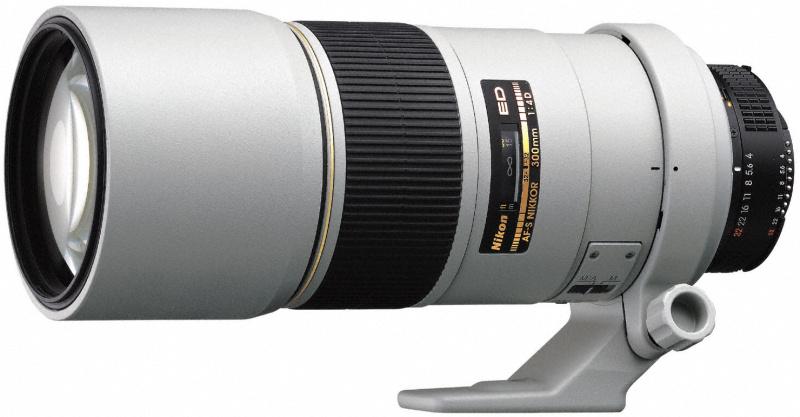 Ai AF-S Nikkor 300mm f/4D IF-EDにはライトグレーがあった