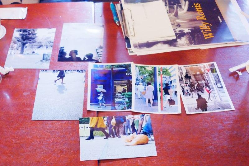 過去に行われた「風景にとけこむポートレート」セミナーで撮影した彩乃先生の作品を見ながら、撮影意図やどのように撮ったのかを教えていただきました。