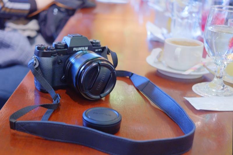 今回の講座は機材貸出しがあり、希望者には参加申し込み時にカメラボディ1台(X-T1、X-E2、X-M1)と、貸出カメラのキットレンズと希望レンズ1本のレンズ2本を借りることができます。いちばん人気のカメラはX-T1でした。