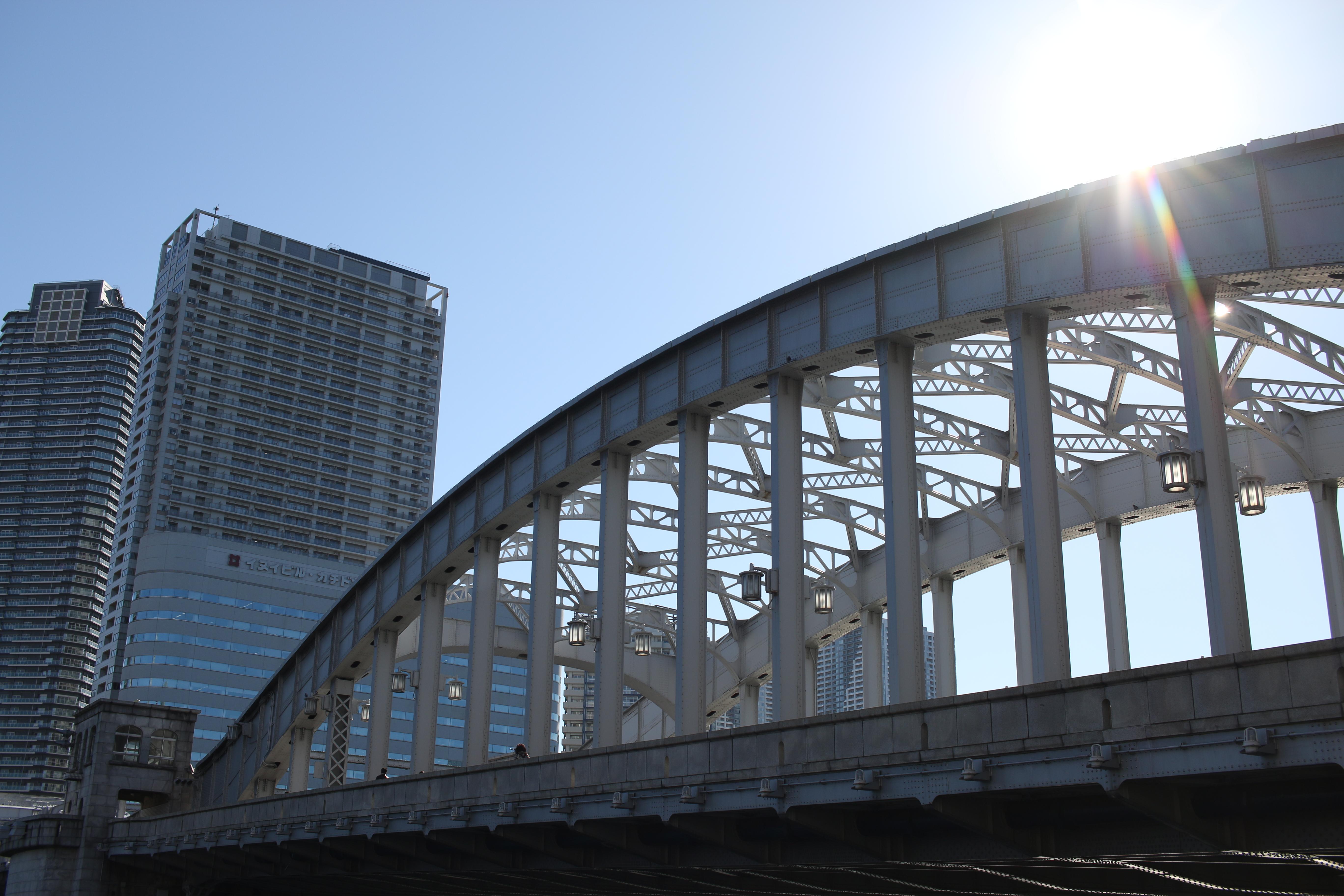 太陽が画面内に入る逆光で撮影。EOS 70D / 1/800秒 / F5.6 / 0EV / ISO100 / 絞り優先AE / 24mm