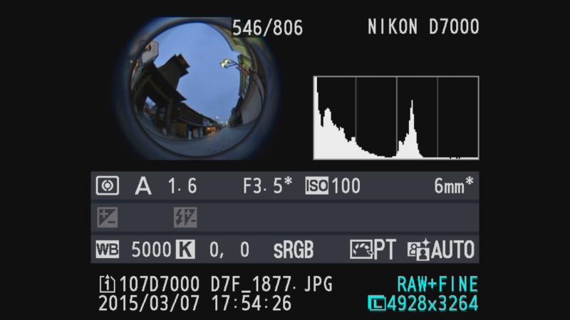 カメラ側には絞り値は表示されずExifにも反映されないが、AEは実絞り測光で使用可能