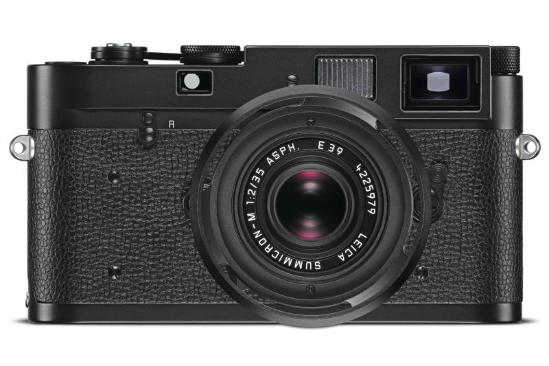 ライカ ズミクロンM f2/35mm ASPH. ブラッククロームをライカM-Aに装着
