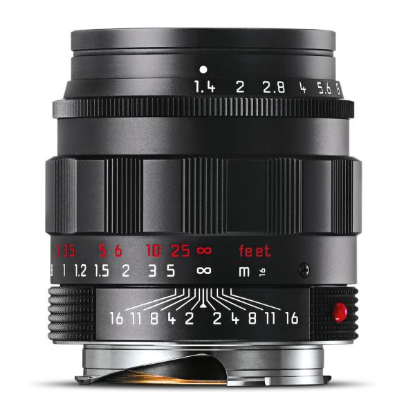 ライカ ズミルックスM f1.4/50mm ASPH. ブラッククローム