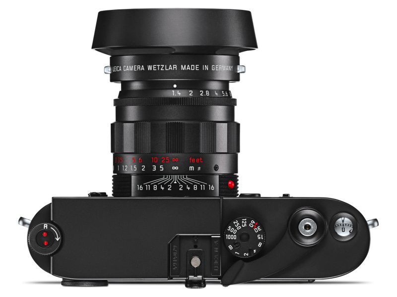 ライカ ズミルックスM f1.4/50mm ASPH. ブラッククロームをライカM-Aに装着