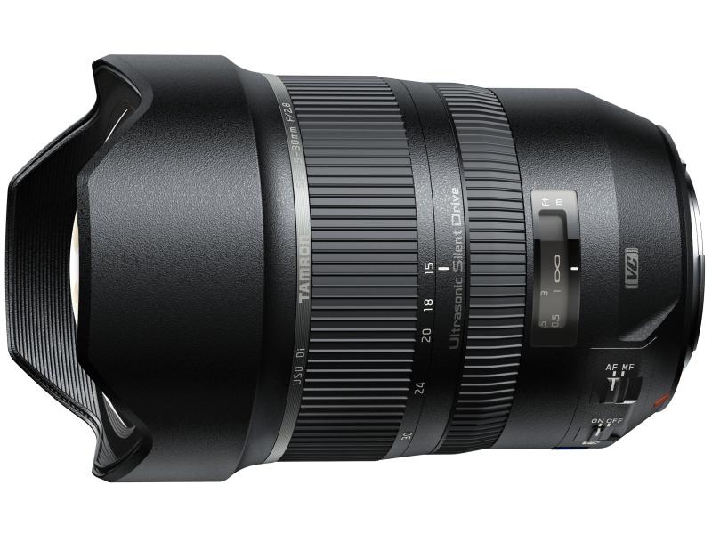 対象製品のひとつ、SP 15-30mm F/2.8 Di VC USD