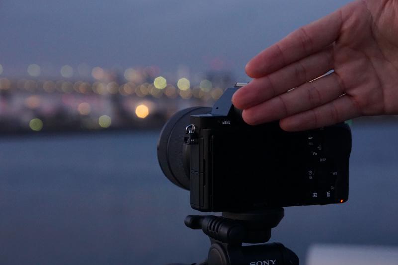 PlayMemories Camera Apps「タッチレスシャッター」使用例