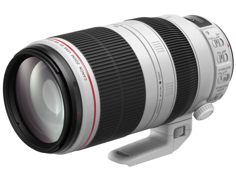 EF100-400mm F4.5-5.6L IS II USM。2014年12月9日発売。メーカー希望小売価格は税込32万4,000円。