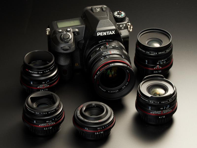 5本の単焦点と標準ズームで構成されるHD DA Limitedシリーズ