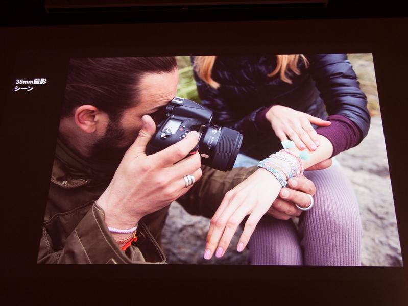 SP 35mmの最短撮影距離での撮影シーン