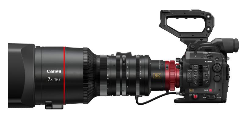 CINEMA EOS SYSTEM 8Kカメラ