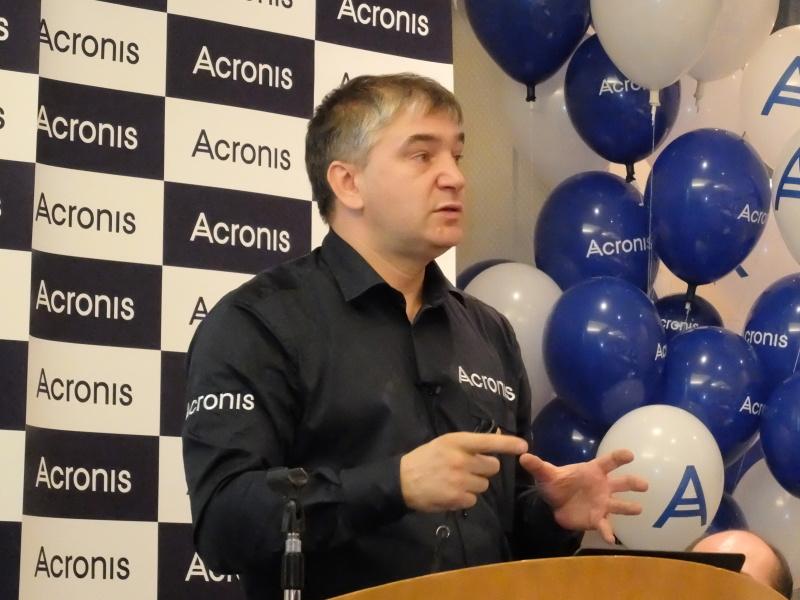 Acronis社CEOのセルゲイ・ベロウゾフ氏