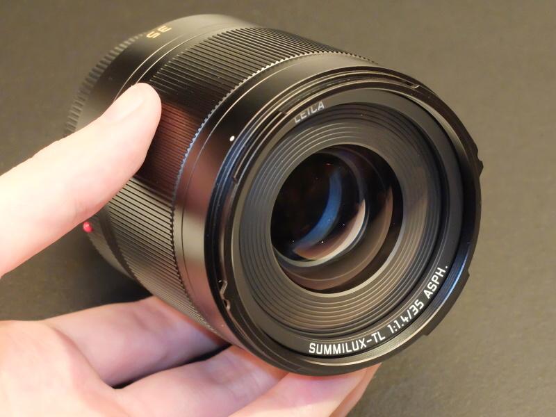 ライカ ズミルックスTL f1.4/35mm ASPH.。ライカカメラ本社で編集部撮影