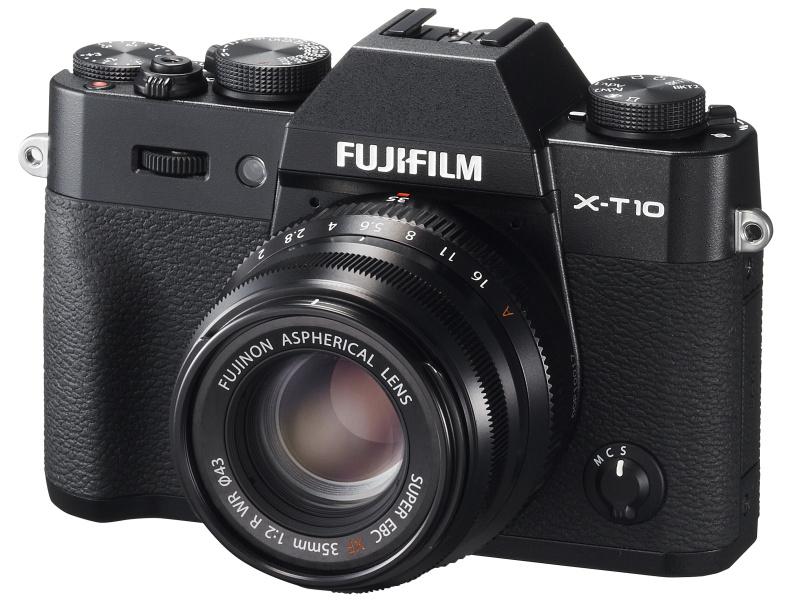 XF35mm F2 R WR(ブラック)+FUJIFILM X-T10