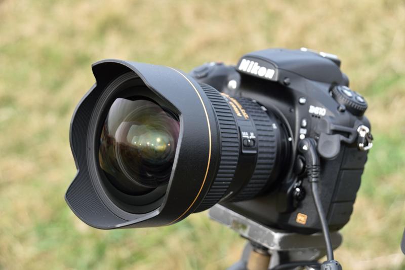 D800とAF-S NIKKOR 14-24mm f/2.8G EDの組み合わせ。ISO64での低感度撮影が可能だ。結果はいかに。
