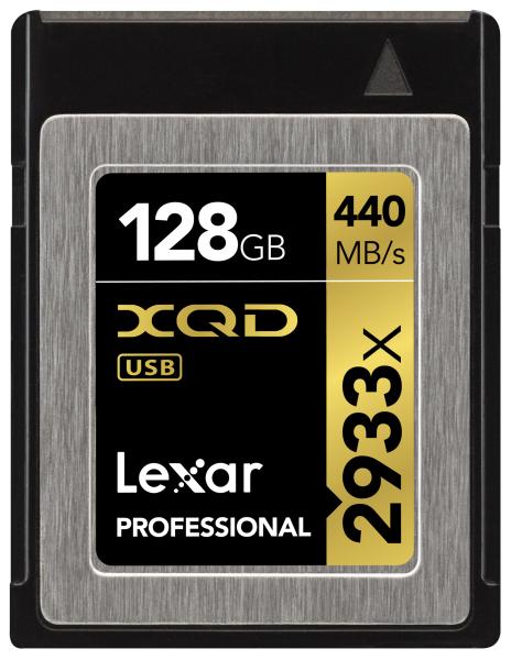 Lexar Professional 2933x XQD 2.0カード
