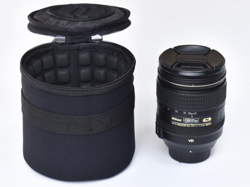 AF-S NIKKOR 24-120mm f/4G ED VRを並べてみる。高さはほぼ同じ