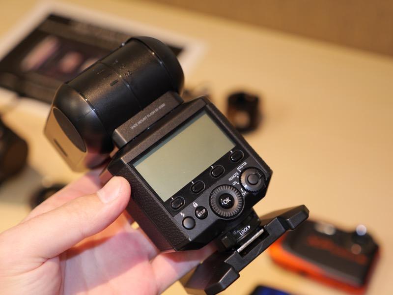 EF-X500のモックアップ。