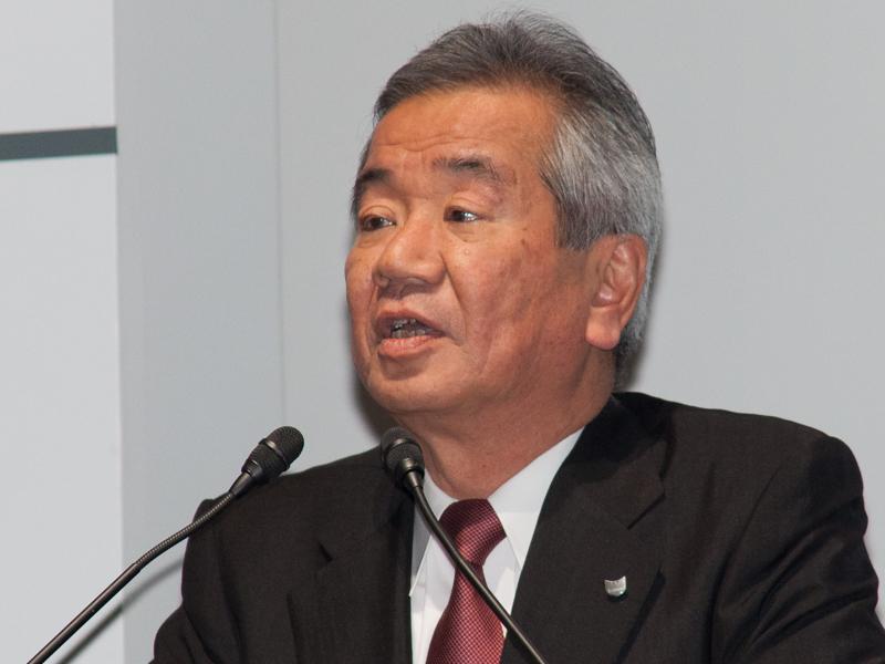 キヤノン専務取締役 イメージコミュニケーション事業本部長 眞榮田雅也氏
