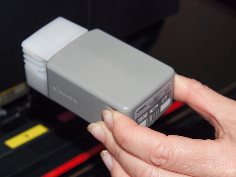 インクタンクは1色80mlと大容量