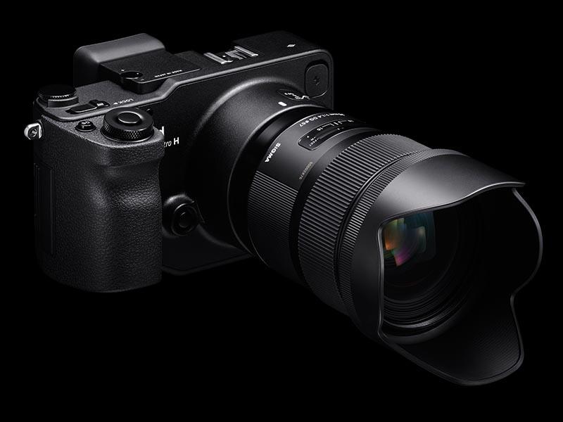 SIGMA 35mm F1.4 DG HSM   Artの装着例