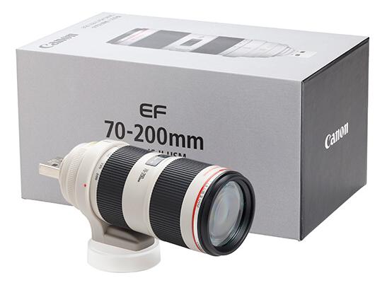 MUSB EF70-200mm f/2.8L IS II USM 8GB (ミニチュアUSBフラッシュドライブ)